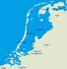 netherlands map below sea level netherlands