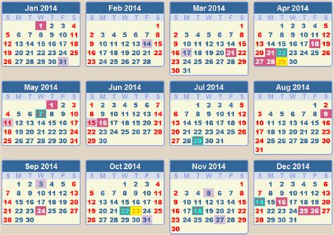 2014 Calendar With Holidays Calendar 2014 School Terms And Holidays South Africa
