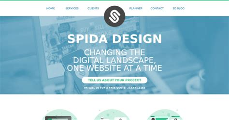spida design best web developers 10 best design
