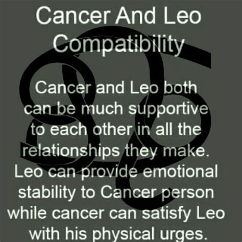 17 best ideas about leo and cancer on pinterest