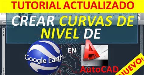 tutorial autocad curvas de nivel autocad tutoriales tips y trucos crear curvas de nivel