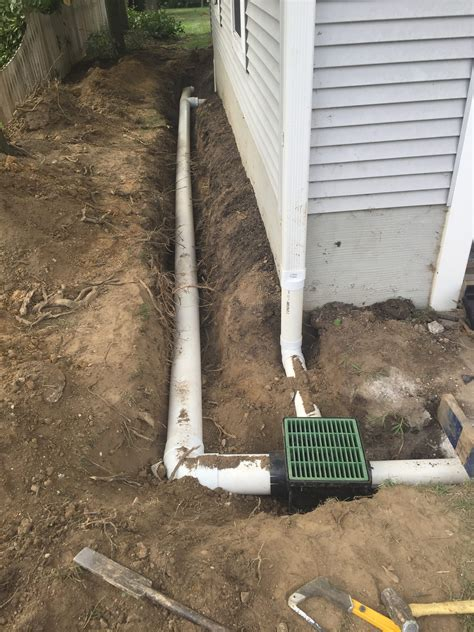 drainage solutions in catonsville ellicott city and