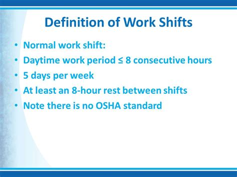 define swing shift hours shift work and its impact on medical error ppt video