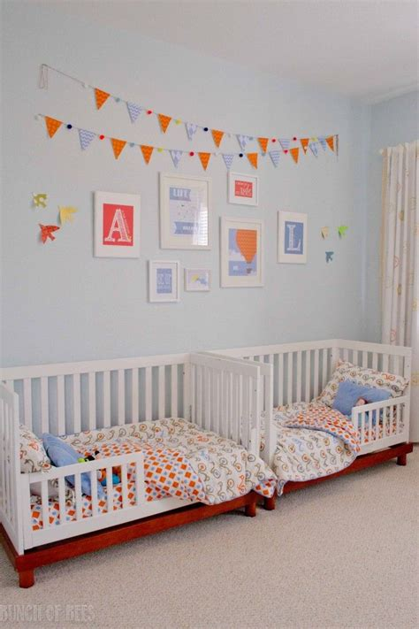 toddler twin beds twin boys toddler room boys toddlers and twin room