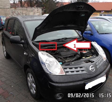 nissan micra vin number nissan note 2006 2013 vin location where is vin