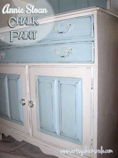 is diy chalk paint as as sloan dated 70 s hutch transformed into a coastal shabby