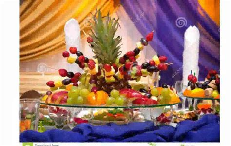 fruit table decoration