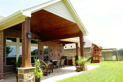 Gable Roofs Houston, Dallas & Katy   Texas Custom Patios