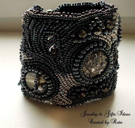 bead embroidery bracelets 17 best images about bead embroidery on