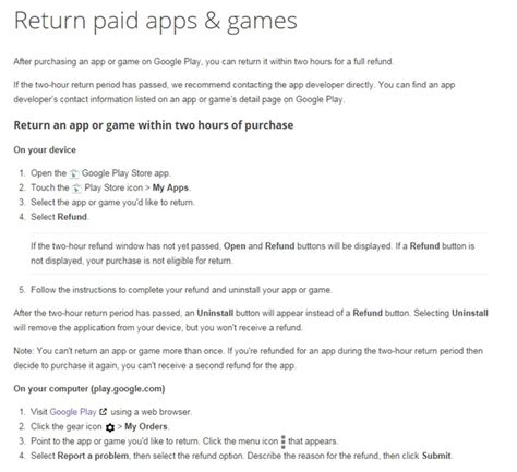 play refund time extended to 2 hours by