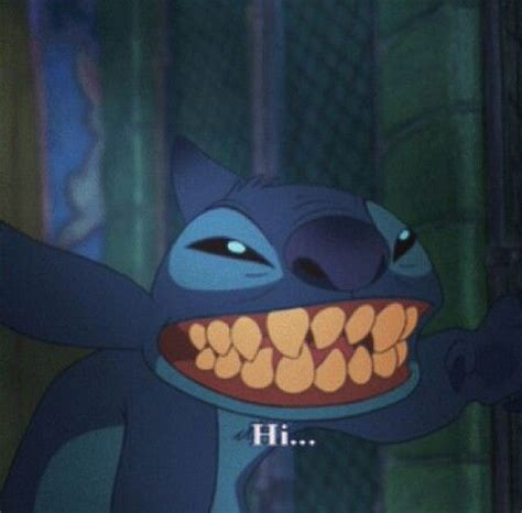Stitch Hi Meme - stitch saying hi stuff i like pinterest