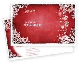 christmas theme postcard template in microsoft word adobe