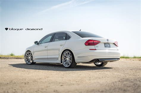 white volkswagen passat 2012 stylish transformation of white vw passat with aftermarket