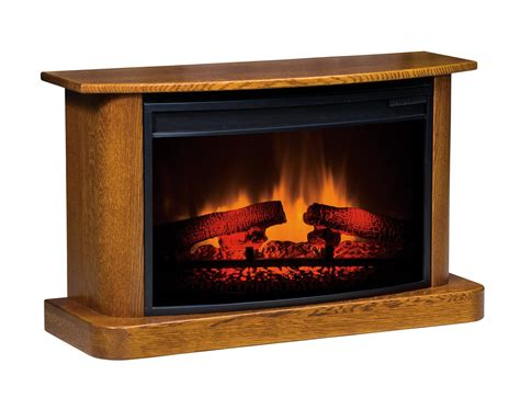Amish Electric Fireplace Lancaster Heritage Led Fireplace From Dutchcrafters Amish Furniture