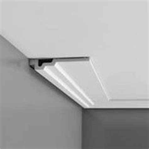 easy inexpensive cove lighting uses foam crown molding
