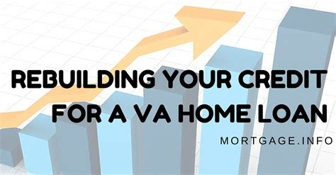 rebuilding your credit for a va home loan mortgage info