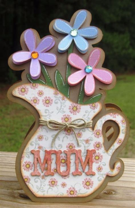 Other Words For Handmade - mothers day greeting card ideas family