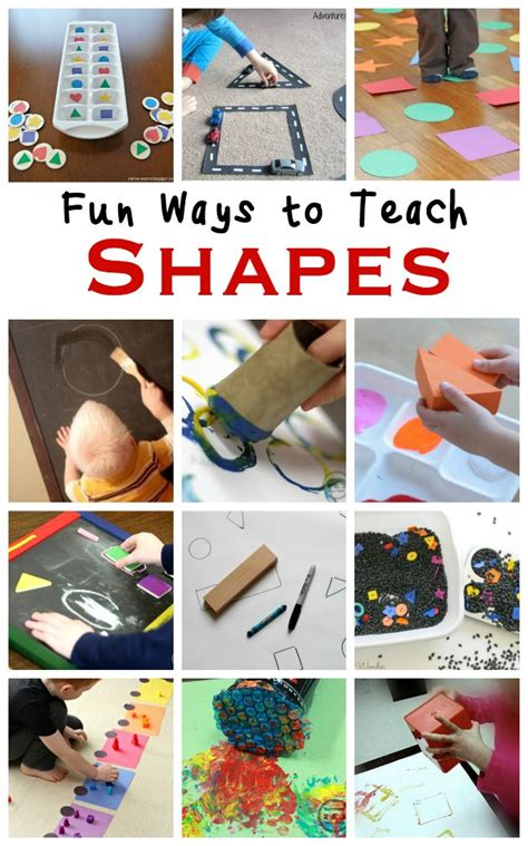 154 best shapes images on preschool shapes