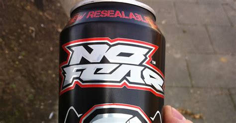 8 energy drinks a day a review a day today s review no fear energy drink