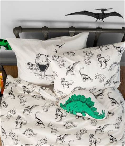 kid dinosaurs and duvet covers on