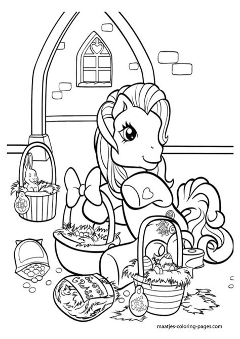 my little pony easter coloring page my little pony easter coloring pages