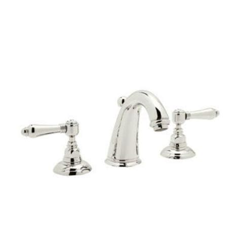 Rohl Bathroom Fixtures Rohl San Julio 8 In Widespread 2 Handle Bathroom Faucet In Polished Nickel A2108lmpn 2 The