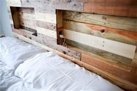 headboard pallet 16 wonderful diy pallet headboard ideas diy to make