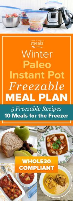 paleo instant pot freezer mini pork and sauerkraut in the instant pot for the new year