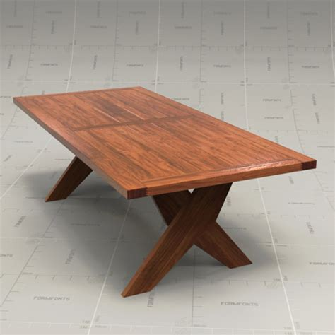 maxalto plato dining table 3d model formfonts 3d models