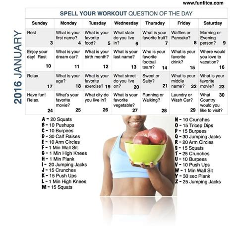 Do You Spell Calendar 25 Best Ideas About Workout Calendar On Ab
