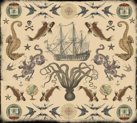 nautical tattoos designs nautical images designs