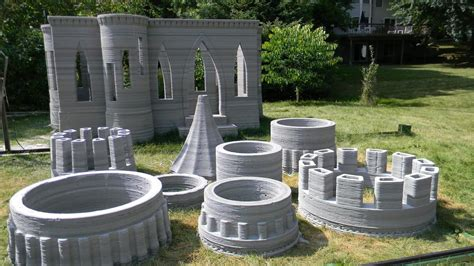 Cinder Block Home Plans by World S First 3d Printed Castle Is Complete Andrey