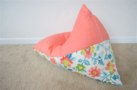 photo bean bag diy diy sew a bean bag chair in 30 minutes project nursery