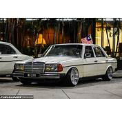 Mercedes Benz W123  Car Lover Modified Gathering 20 2015