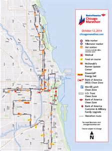 chicago map race chicago marathon 2014 map