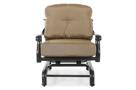 World Source Patio Furniture World Source St Louis Club Motion Chair With Cushion Mathis Brothers Furniture