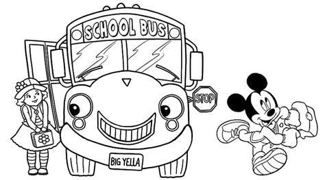 coloring school things coloring pages