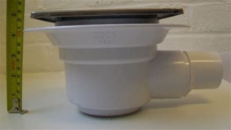shower gully for room mcalpine gully trap for use with tiled or floors plumbers mate ltd