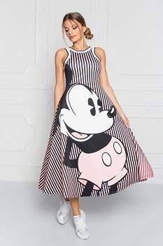 Casual Mickey Dress Bt30 disney clothes for disney dresses womens