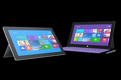 Tablet Microsoft Surface 2 surface 2 and surface pro 2 tablets now available to buy