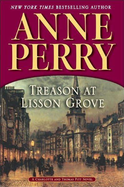 libro traicion en lisson grove treason at lisson grove thomas and charlotte pitt series 26 by anne perry paperback barnes