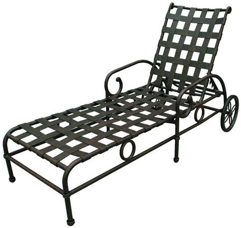 Chaise Patio Furniture by Patio Furniture Chaise Lounge Cast Aluminum Malibu