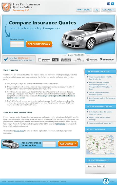 Free Car Insurance Quotes Online   Superlative Internet