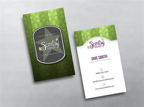 scentsy business card template scentsy business cards free shipping