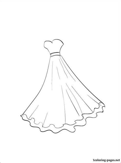 coloring pages ball gowns ball gown coloring page coloring pages