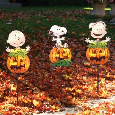 lighted halloween window decorations peanuts snoopy halloween decorations