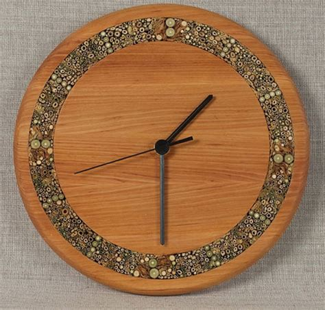 wooden clocks unique wall clocks large wooden clock rustic wood by anerywood