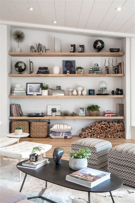 Living Room With Shelves - living room open shelf styling bethany nauert s portfolio