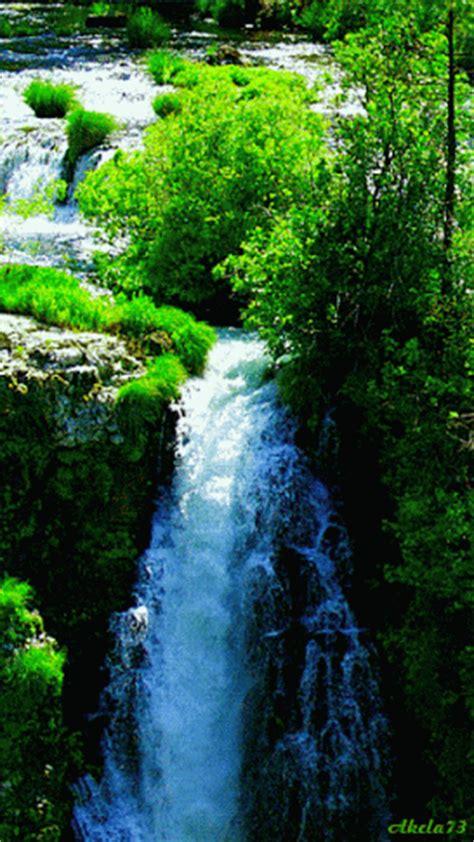 wallpaper pemandangan alam gif gambar pemandangan air terjun gambar pemandangan holidays oo