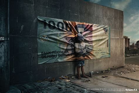 Digital Imaging For Advertising money trap caign on behance